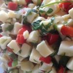 Rezept: Kräuter-Käse-Salat