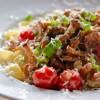 Pasta mit frischen Pfifferlingen und Cherrytomaten