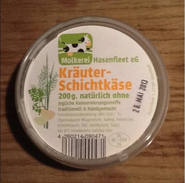 Kräuter-Schichtkäse-Molkerei-Hasenfleet