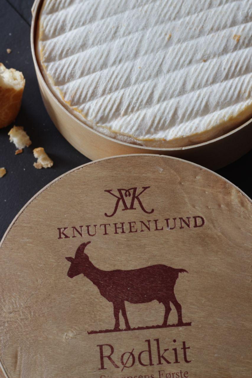 Knuthenlund Rødkit - unfassbar guter Käse