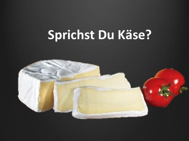 Aussprache Käse französisch