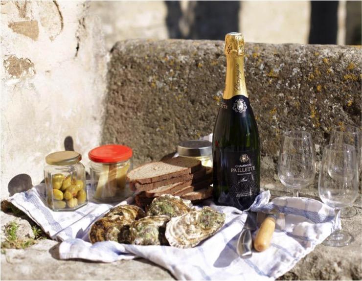 Champagner-Picknick